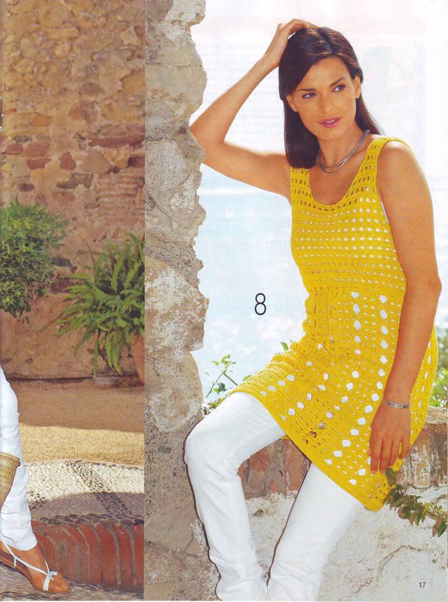 Вязание летней одежды для женщин